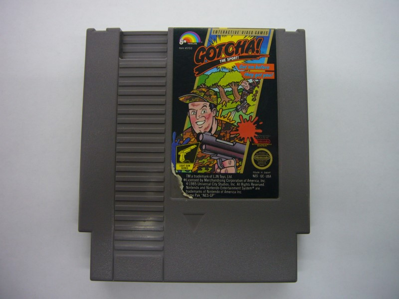 NINTENDO NES Game GOTCHA! THE SPORT! *CARTRIDGE ONLY*