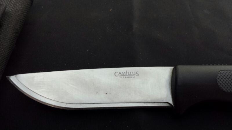 CAMILLUS CUTLERY Hunting Knife CAMILLUS TITANIUM
