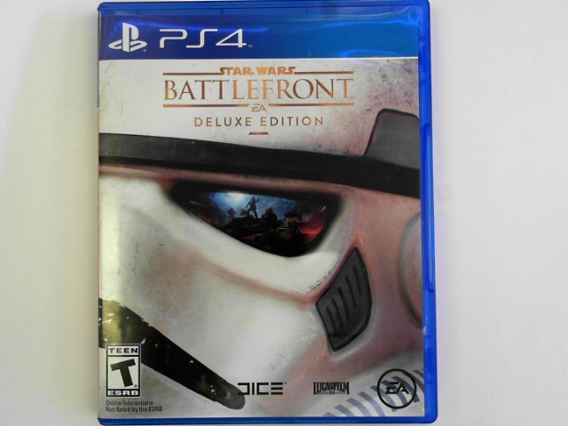 SONY Sony PlayStation 4 Game STAR WARS BATTLEFRONT DELUXE EDITION GAME - PS4
