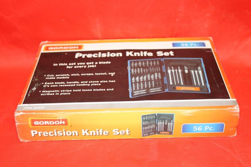 Gordon 56 Piece Precision Knife Set Crats Exactor Hobby