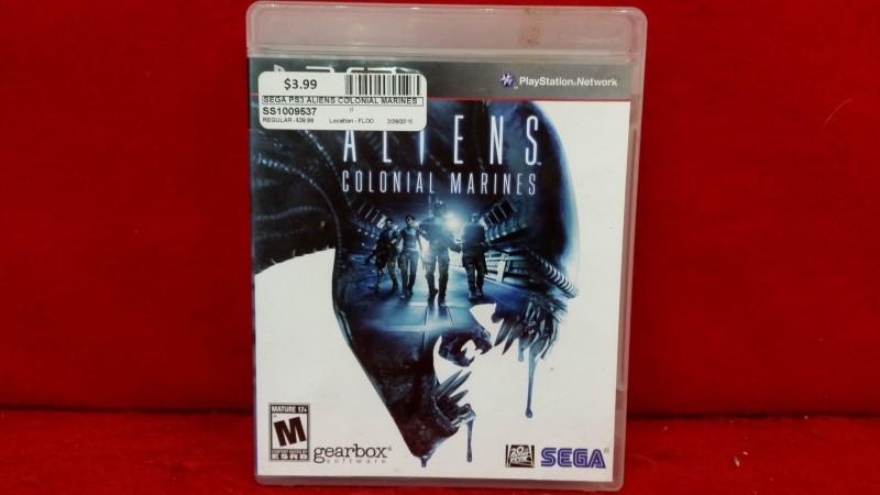 Aliens: Colonial Marines (Sony PlayStation 3, 2013)
