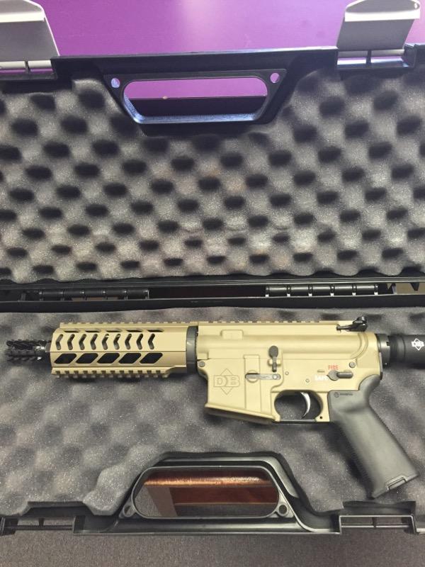 Diamondback Pistol DB-15 *Used/Never Fired*