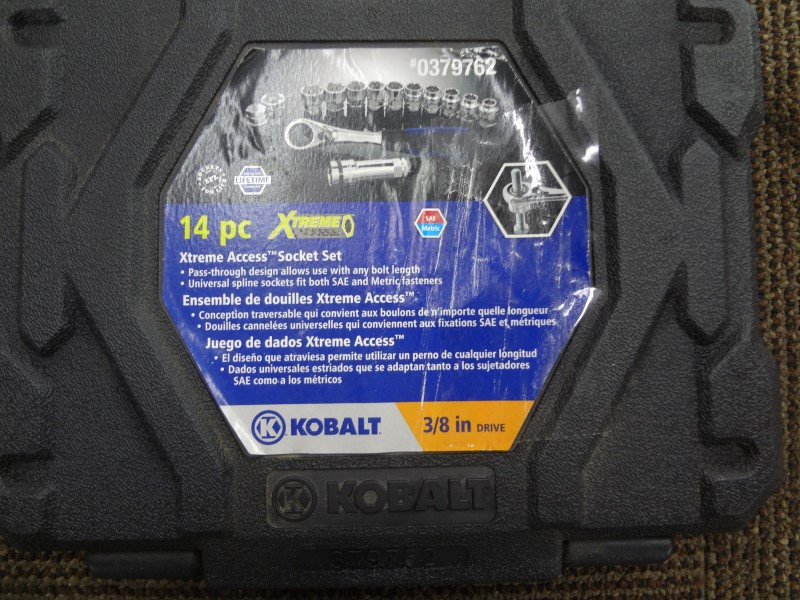 KOBALT TOOLS SOCKETS & RATCHETS 0379762