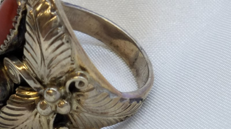 Gent's Silver Ring 925 Silver 11.1g