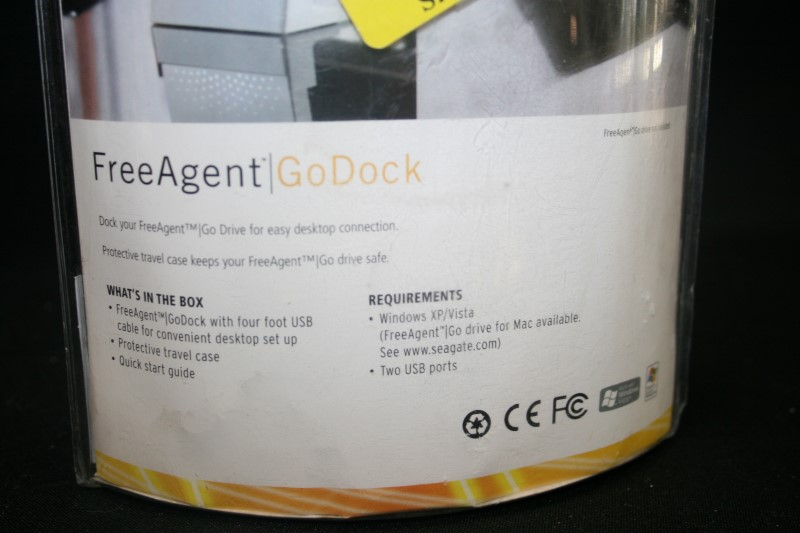 Seagate FreeAgent Go Dock External Hard Drive Base USB 2.0