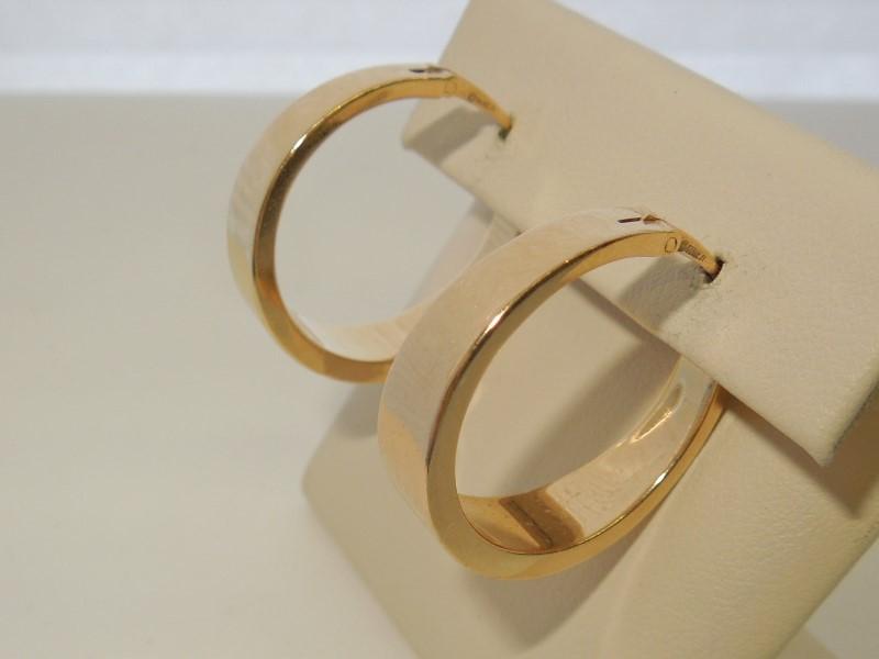 Gold Earrings 14K Yellow Gold 4.4g