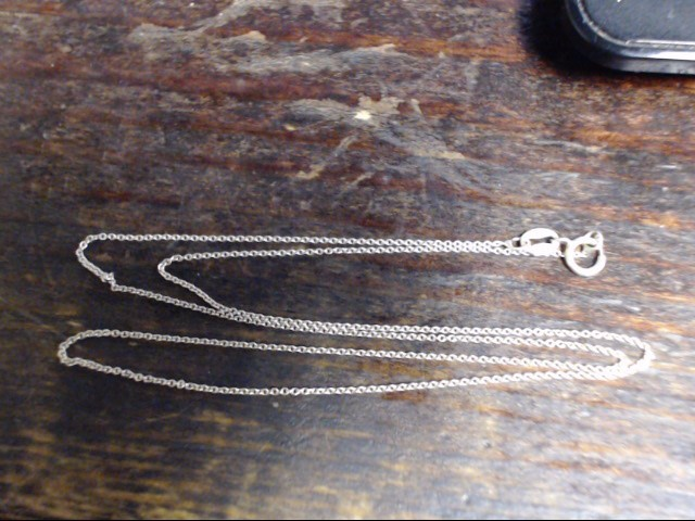 """18"""" Silver Link Chain 925 Silver 1.1g"""