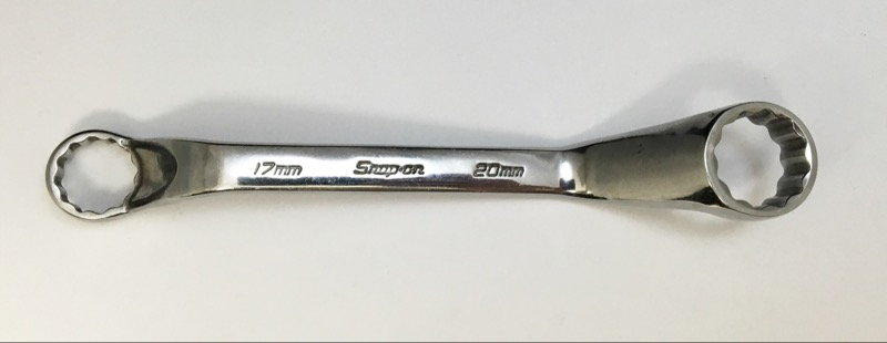 SNAP-ON 12 POINT 17MM & 20MM OFFSET XSOM1720