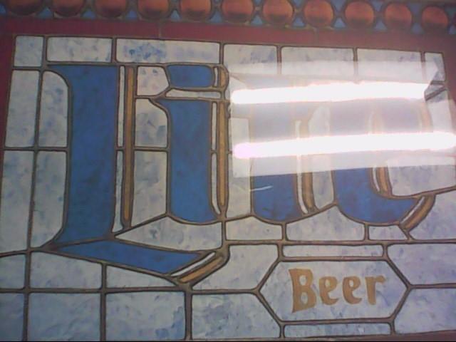 MILLER LITE Sign BEER SIGN
