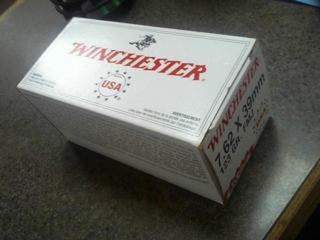 WINCHESTER Ammunition 7.62X39MM 123 GR