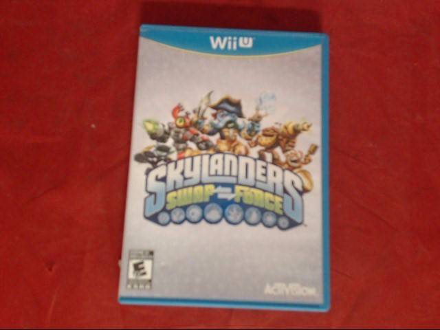 NINTENDO Wii U Game SKYLANDERS SWAP FORCE STARTER PACK WII U