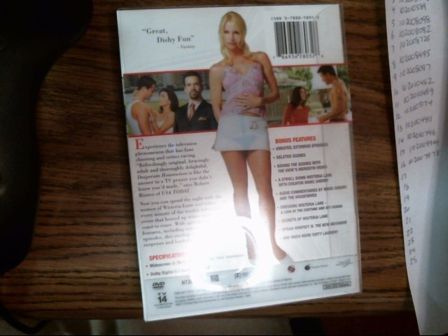 Desperate Housewives The Complete First Season DVD