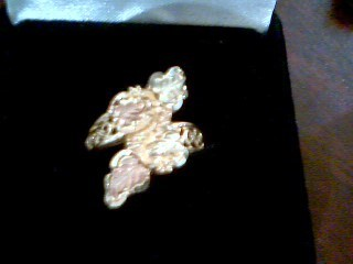 Lady's Gold Ring 10K Yellow Gold 4g Size:7