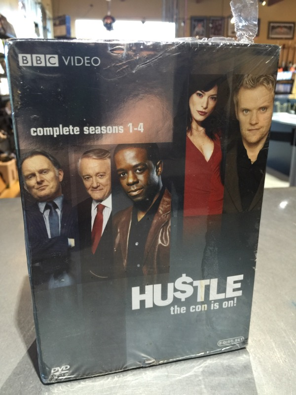 HUSTLE DVD COMPLETE SEASONS 1-4