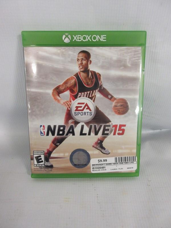 MICROSOFT Microsoft XBOX One Game NBA LIVE 15 - XBOX ONE