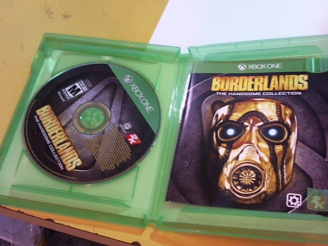 MICROSOFT Microsoft XBOX One Game BORDERLANDS THE HANDSOME COLLECTION