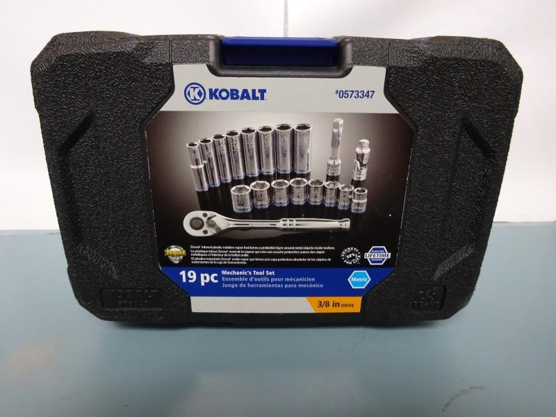 KOBALT TOOLS Sockets/Ratchet 19PC SAE SOCKET SET
