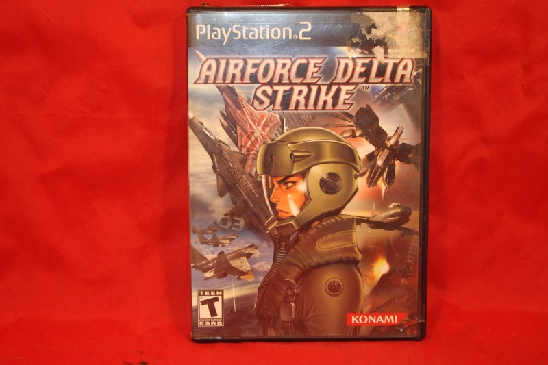 Airforce Delta Strike Complete Game for PlayStation 2 System Console PS2