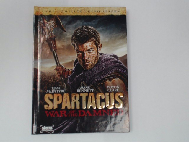 DVD BOX SET SPARTACUS THE COMPLETE THIRD SEASON WAR OF THE DAMNED