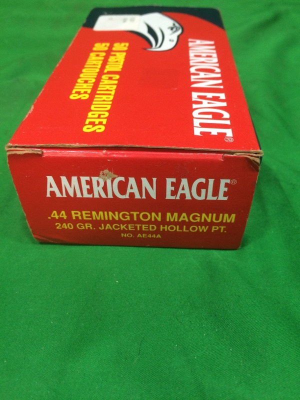 AMERICAN EAGLE AMMUNITION Ammunition .44 REM MAGNUM