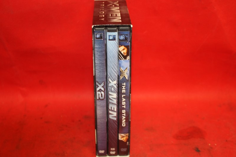 X-Men Trilogy - USED 3-Disc DVD Set (2006) - X 1 2 3 United, Last Stand