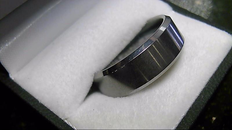 Tungsten Silver Wedding Band 16.2G SZ 11