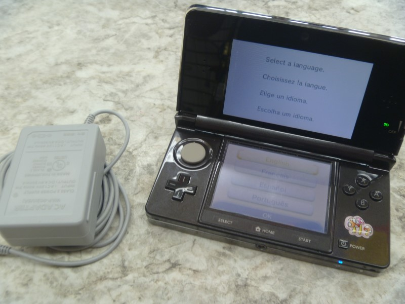 NINTENDO 3DS - HANDHELD GAME CONSOLE