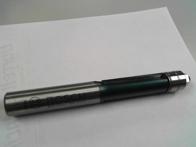 BOSCH Drill Bits/Blades R411 85601M DOUBLE FLUTE TEMPLET ROUTER BIT