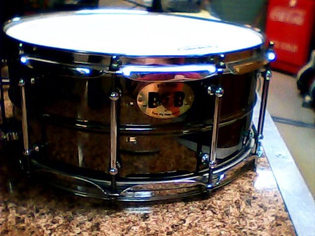 PORK PIE Drum BIG BLACK BOB