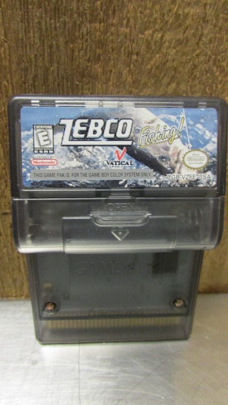 NINTENDO Vintage Game ZEBCO FISHING