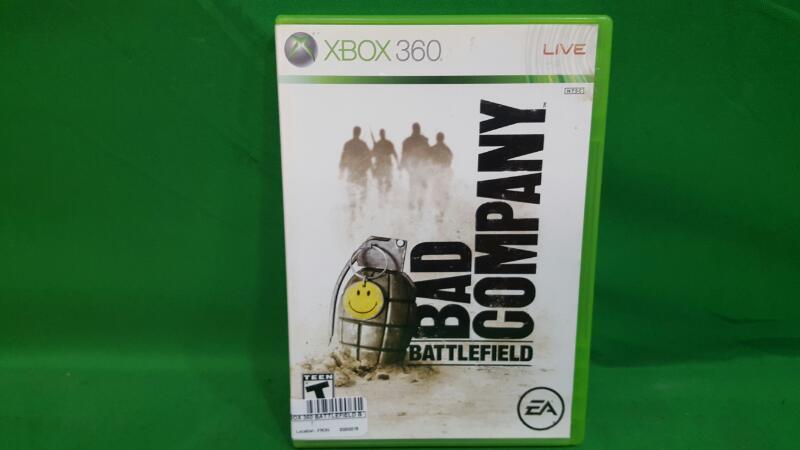 MICROSOFT Microsoft XBOX 360 Game BATTLEFIELD BAD COMPANY