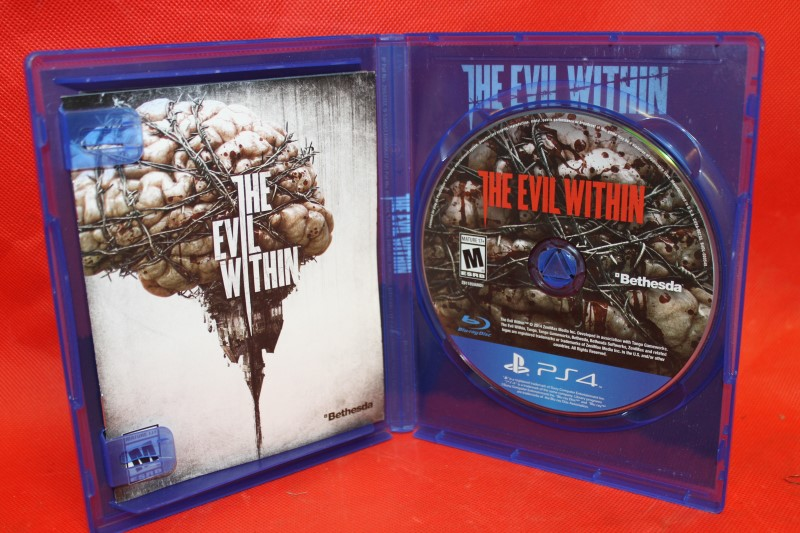 Evil Within (Sony PlayStation 4, 2014) **Free Shipping**