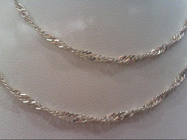 Silver Chain 925 Silver 3.3g