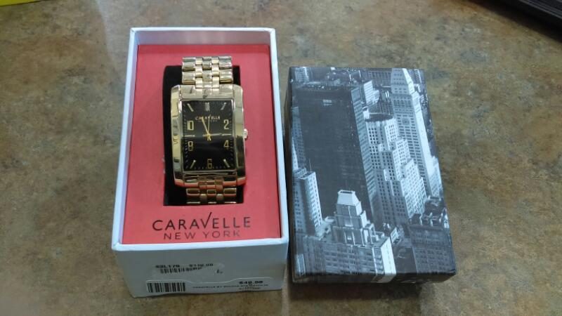 CARAVELLE BY BULOVA Gent's Wristwatch 44A103