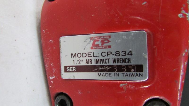 "CALIFORNIA PNEUMATIC 1/2"" DRIVE AIR IMPACT WRENCH TOOL CP-834"