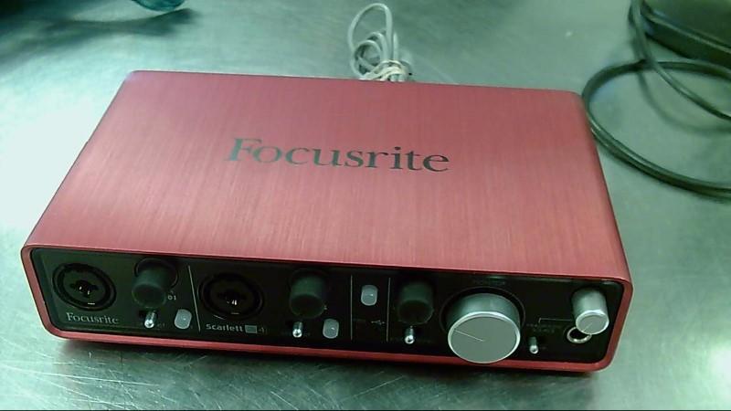 FOCUSRITE USB AUDIO RECORDING INTERFACE SCARLETT 2I4