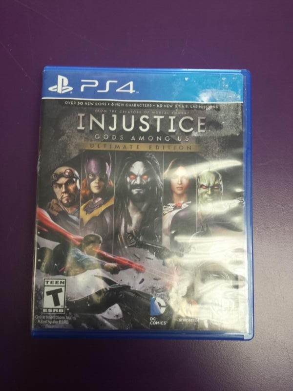SONY Playstation 4 INJUSTICE - GODS AMONG US ULTIMATE EDITION