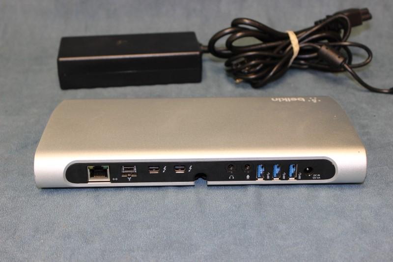 Belkin Thunderbolt Express Dock - Model # F4U055