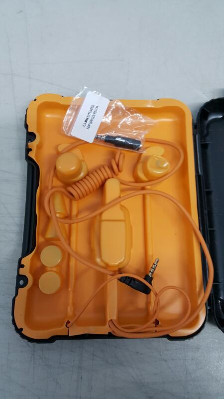 Tough Tested Marine TT-HF-MAR IP67 Waterproof Noise Control Earbuds w/Microphone