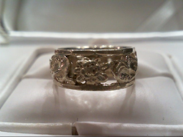 Lady's Silver Band 925 Silver 4.7g size 5