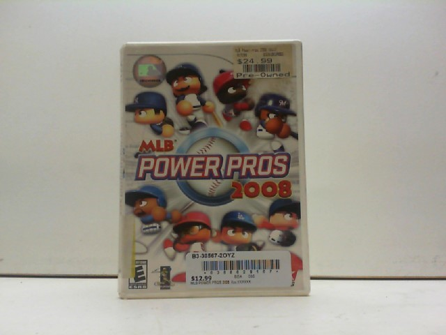 NINTENDO Nintendo Wii Game MLB POWER PROS 2008