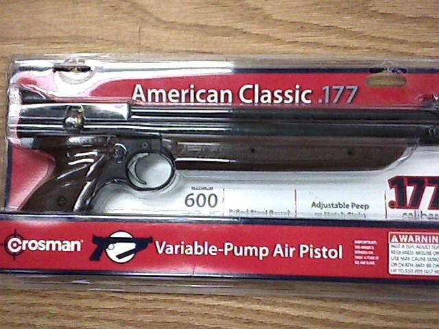 CROSMAN Air Gun/Pellet Gun/BB Gun AMERICAN CLASSIC 1377