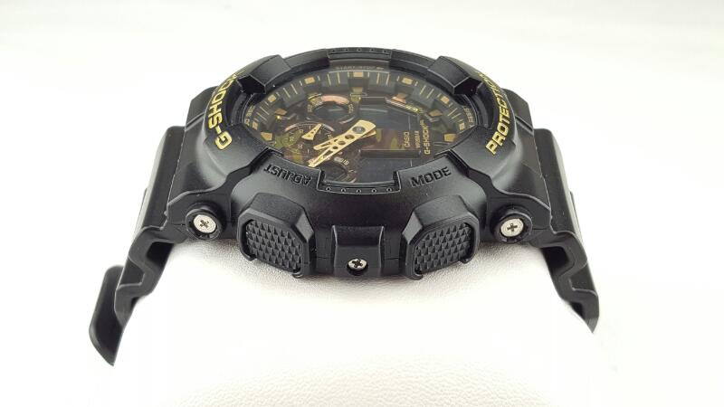 CASIO G-SHOCK GA-100CF 5081 CAMO AND BLACK