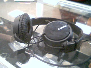 SONY HEADSET BLACK