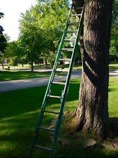 WERNER LADDER Ladder 24'' FIBERGLASS EXTENSION LADDER
