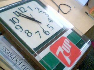 7 UP Clock CLOCK
