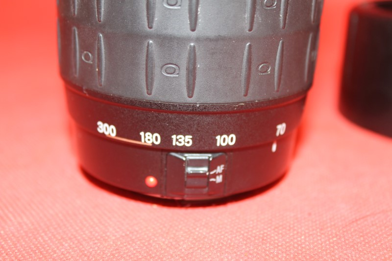 Quantaray Tech-10 NF AF Nikon AF 70-300mm f/4-5.6 D LDO Macro lens
