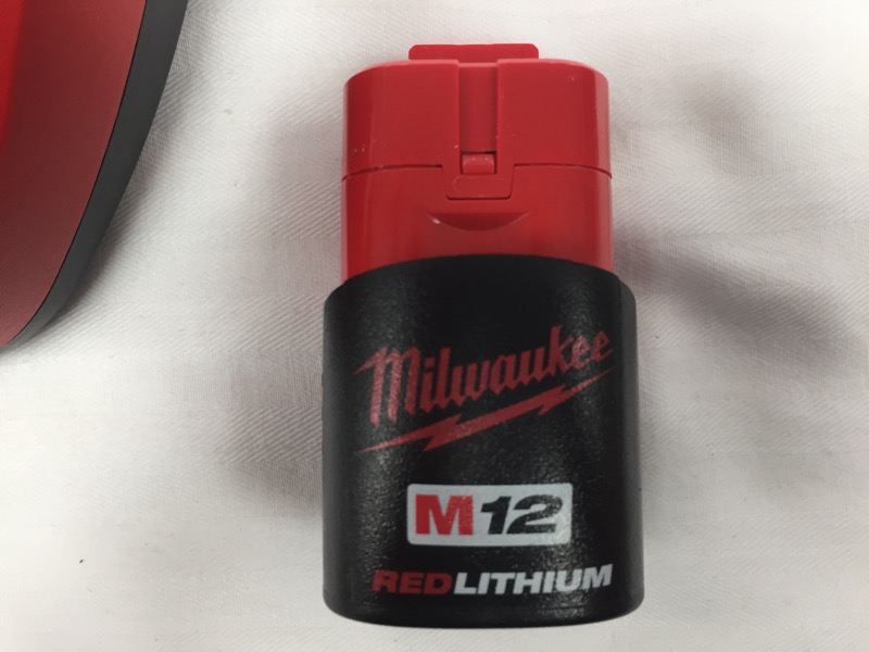MILWAUKEE RED LITHIUM M12 BATTERY MODEL 48-11-2401
