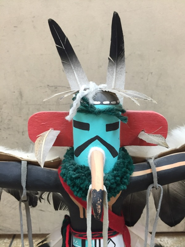 B.L. DAVID Doll EAGLE DANCER KACHINA