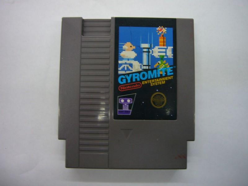 NINTENDO NES Game GYROMITE *CARTRIDGE ONLY*